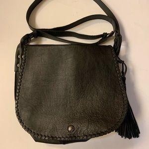 Patricia Nash black leather handbag